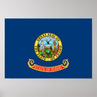 Idaho Flag Poster