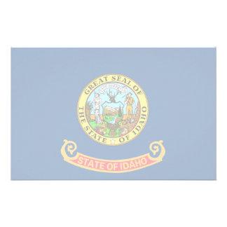 Idaho Flag Stationery Paper