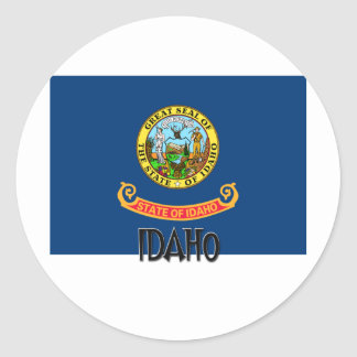 Idaho Flag Stickers