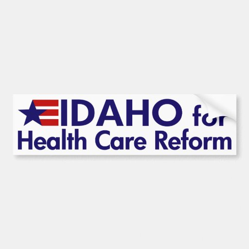 Idaho for Health Care Reform Bumper Stickers