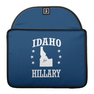 IDAHO FOR HILLARY SLEEVES FOR MacBooks