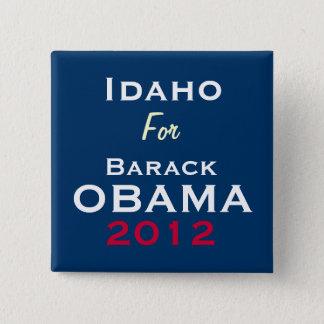 IDAHO For OBAMA 2012 Campaign Button