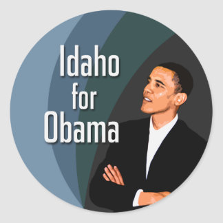 Idaho for Obama Stickers