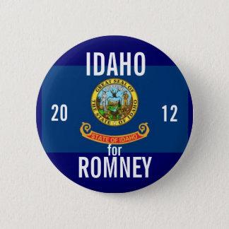 Idaho for Romney 2012 Button