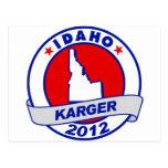 Idaho Fred Karger Postcard