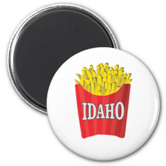 idaho french fries magnet