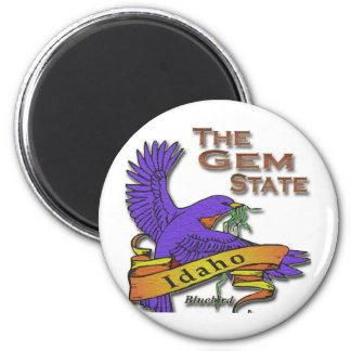 Idaho Gem State Bluebird Refrigerator Magnets
