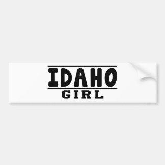 Idaho girl designs car bumper sticker