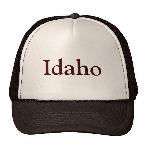 Idaho Gorros