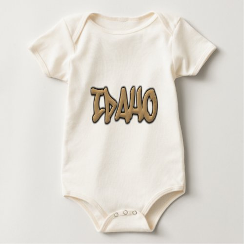 Idaho Graffiti Baby Bodysuit