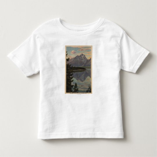 Idaho - Grand Teton Reflection on Jackson Lake Toddler T-shirt