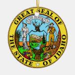 Idaho Great Seal Christmas Ornaments