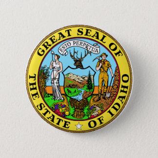 Idaho Great Seal Pinback Button