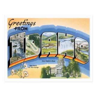 Idaho Greetings From US States Postcard