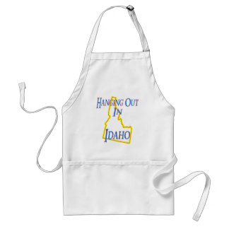Idaho - Hanging Out Adult Apron