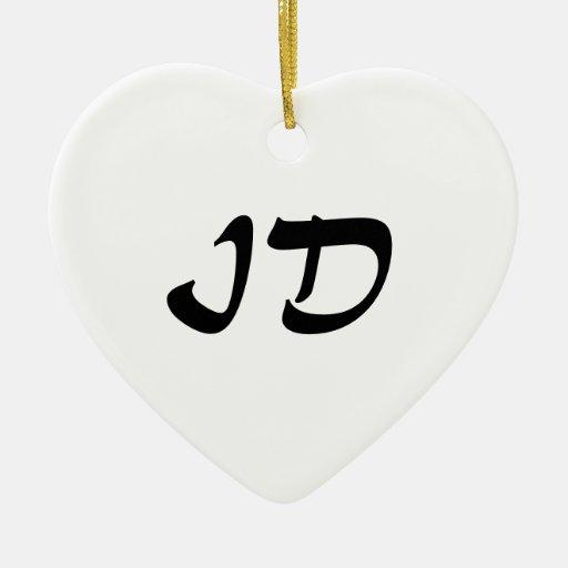 Idaho Heart Ornament