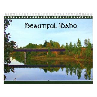 Idaho hermoso calendario de pared