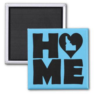 Idaho Home Heart State Fridge Magnet