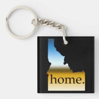 Idaho Home Horizon Keychain