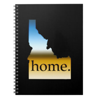 Idaho Home Horizon Spiral Note Book
