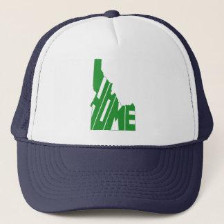 idaho home state trucker hat