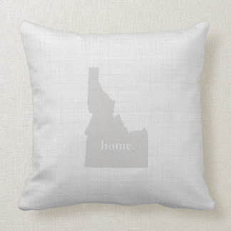 Idaho Home Throw Pillow