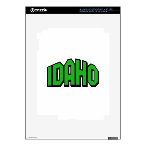Idaho iPad 3 Skins