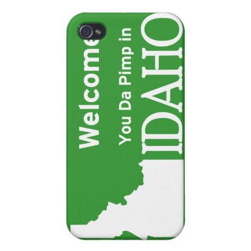 Idaho iPhone 4 Funda