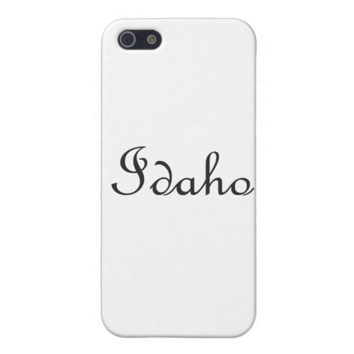 Idaho iPhone 5 Cárcasa