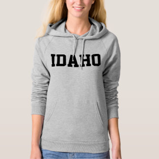 Idaho Jersey Font Black.png Pullover