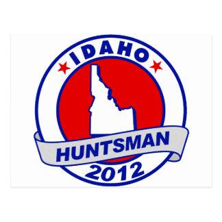 Idaho Jon Huntsman Postcard