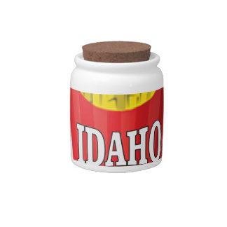Idaho junk food candy dish