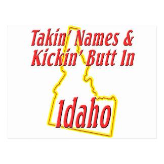 Idaho - Kickin' Butt Postcard
