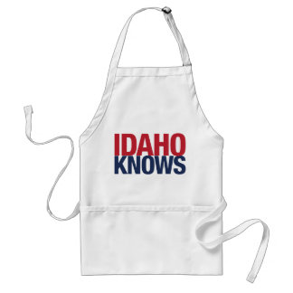 Idaho Knows Adult Apron