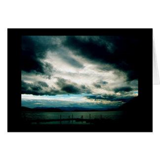 Idaho - Lake Pend Oreille - Chance of Rain card