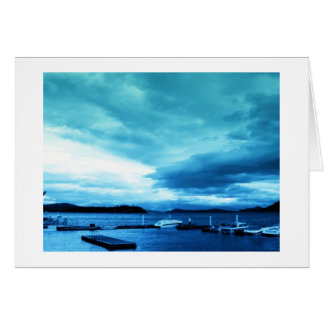 Idaho - Lake Pend Oreille - Dock note card