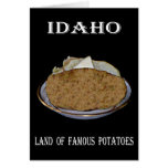 "Idaho ""Land of Famous Potatoes"". Cards"