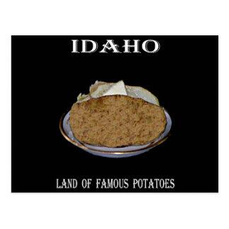 """Idaho """"Land of Famous Potatoes"""". Postcard"""
