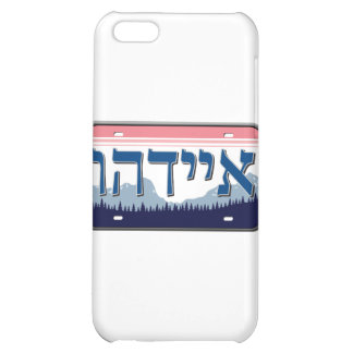 Idaho License Plate in Hebrew Case For iPhone 5C