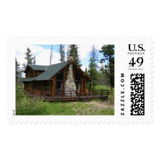 Idaho Log Cabin Postage