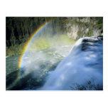 Idaho. LOS E.E.U.U. Arco iris en aerosol sobre el  Tarjeta Postal