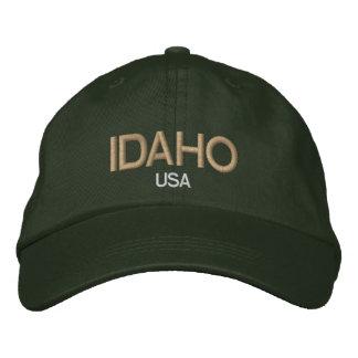 Idaho los E.E.U.U. bordó el gorra Gorro Bordado