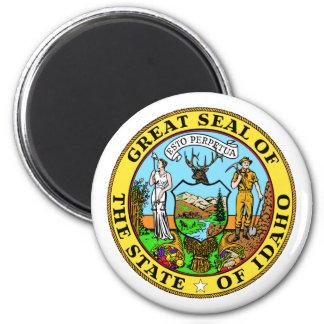 Idaho, los E.E.U.U. Imán Redondo 5 Cm