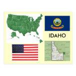 Idaho, los E.E.U.U. Tarjetas Postales