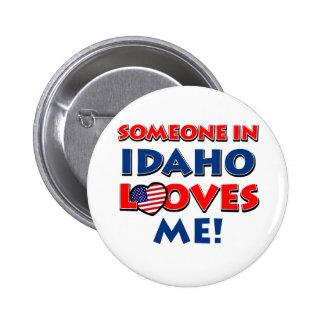 IDAHO love designs Buttons