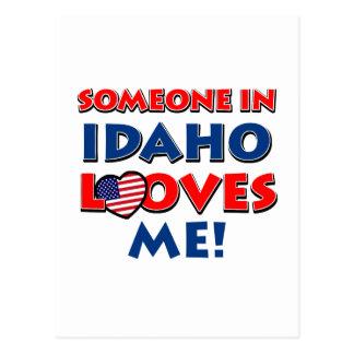 IDAHO love designs Postcard