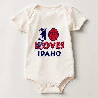 Idaho lover design baby bodysuit
