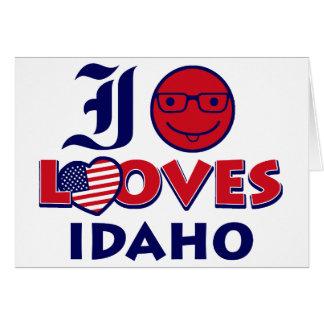 Idaho lover design card