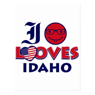 Idaho lover design postcard