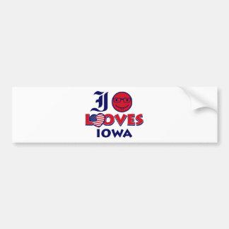 Idaho lovers Design Bumper Sticker